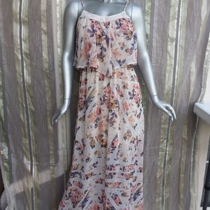SALE 3 FOR $25 Medium Long Boho Dress Sleeveless